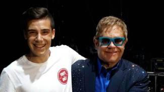 """""""Gli auguri per i miei 18 anni? Me li ha fatti Elton John dal palco del Summer Festival"""""""