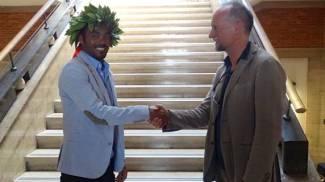 """Elias dall'Etiopia è il primo laureato straniero in """"Embedded Computing Systems"""""""