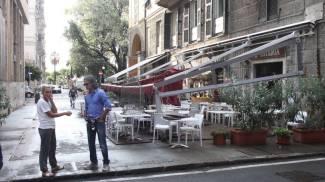 Maltempo a La Spezia, prosegue l'allerta. Danni alla linea ferroviaria e in città / VIDEO