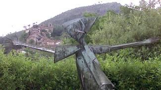 Corso Roma diventa la strada di Pinocchio, grazie a sculture fatte con materiali di recupero
