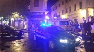Botte da orbi in piazza, lite sedata dai carabinieri