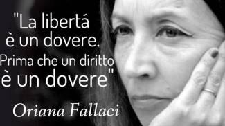 Strada o giardino intitolati a Oriana Fallaci? Via al sondaggio, vota
