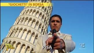Borseggiatori a Pisa, arriva Striscia La Notizia