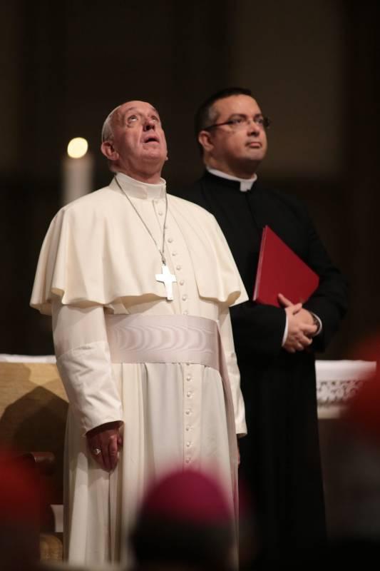 Il papa nella cattedrale di firenze firenze la nazione for Nazione di firenze