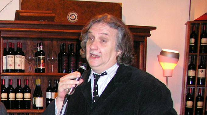 L'artista Franco Casaglieri (Foto Attalmi)