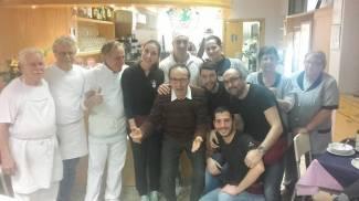 Sorpresa in pizzeria, arriva Benigni