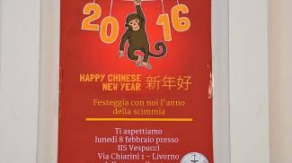 Il Vespucci festeggia il capodanno cinese