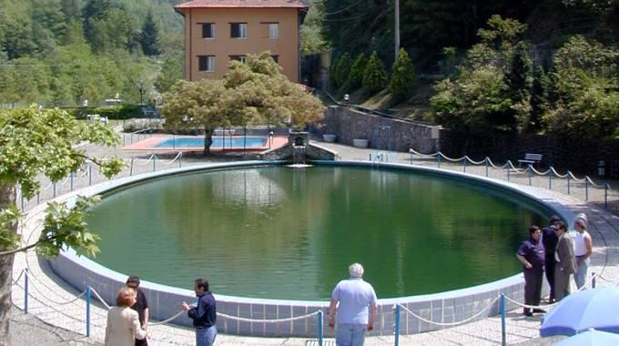 La piscina delle Terme di Equi (Pasquali)