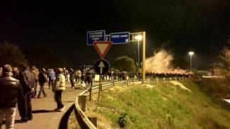 Operai dell'Ast bloccano gli accessi alla città di Terni