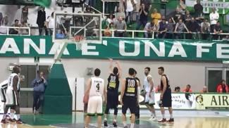 Basket, la Cfg Livorno non completa la rimonta. Gara 1 va a Siena