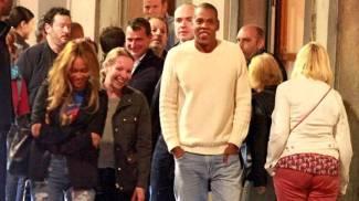 Vacanza lampo a Firenze per Beyoncé e Jay Z