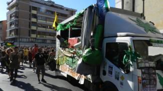Il giorno di Canapisa: strade chiuse e polemiche